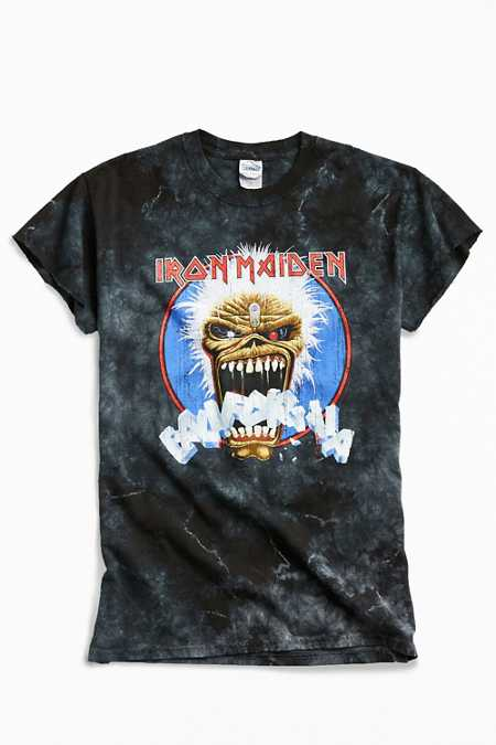 Iron Maiden Dyed Metal Tee