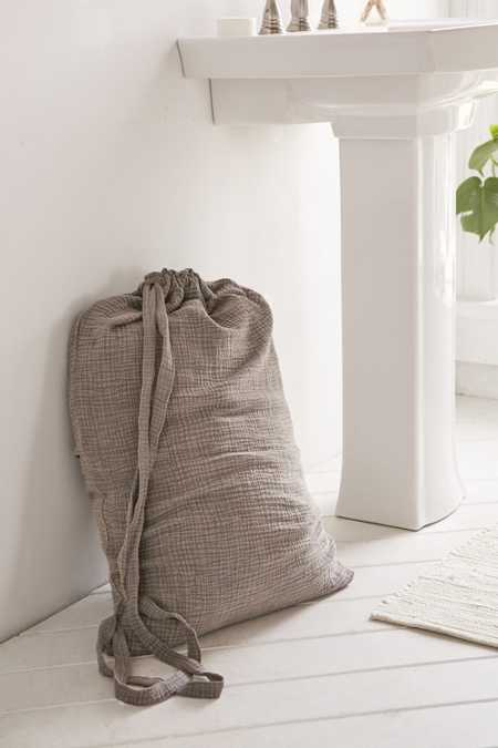 Crinkle Gauze Laundry Bag