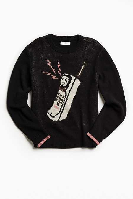 UO Classic Pattern Crew Neck Sweater