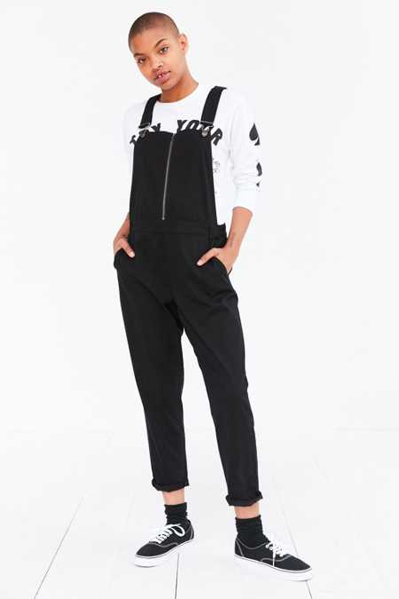 BDG Zip-Front Straight Overall