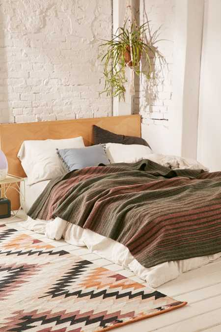 Pendleton Hemrich Striped Camp Bed Blanket