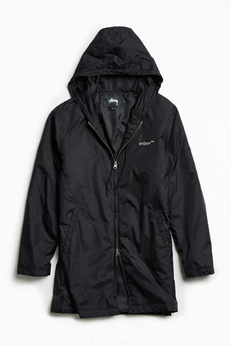 Stussy Insulated Long Hooded Coach Jacket