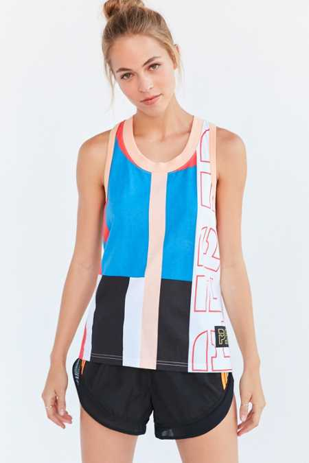 P.E Nation Down Force Racerback Tank Top
