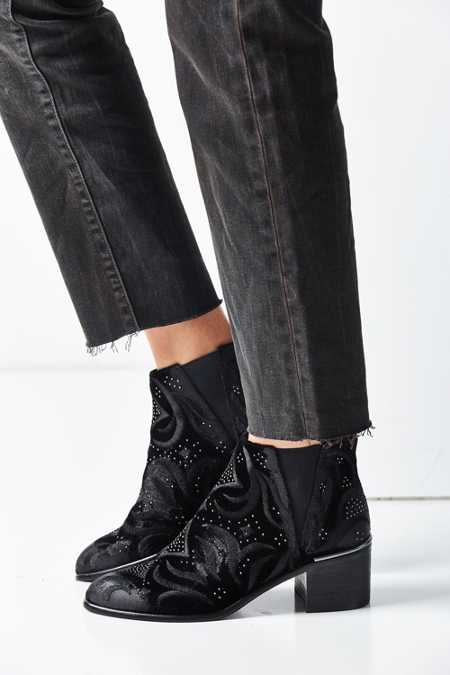Dolce Vita Preston Velvet Ankle Boot