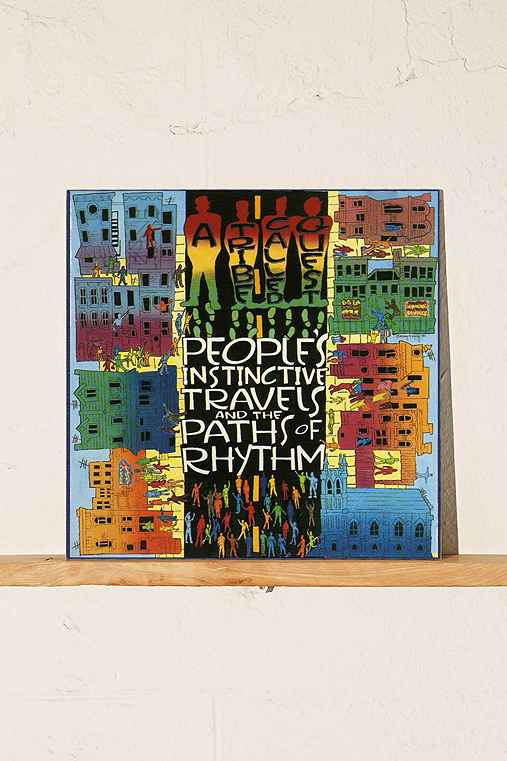 A Tribe Called Quest - People's Instinctive Travels And The Paths Of Rhythm 2XLP,BLACK,ONE SIZE