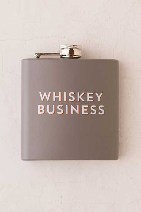 6-Oz Graphic Flask