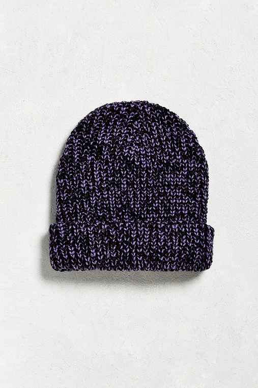 UO Lumberjack Beanie,PURPLE MULTI,ONE SIZE