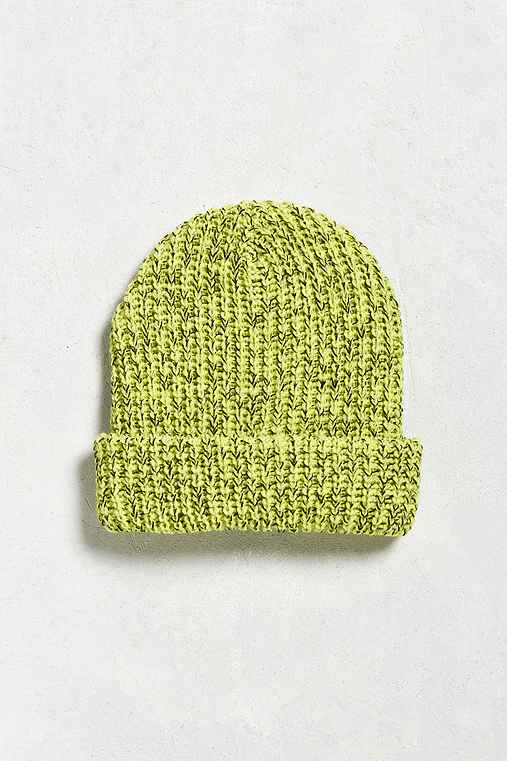 UO Lumberjack Beanie,YELLOW,ONE SIZE