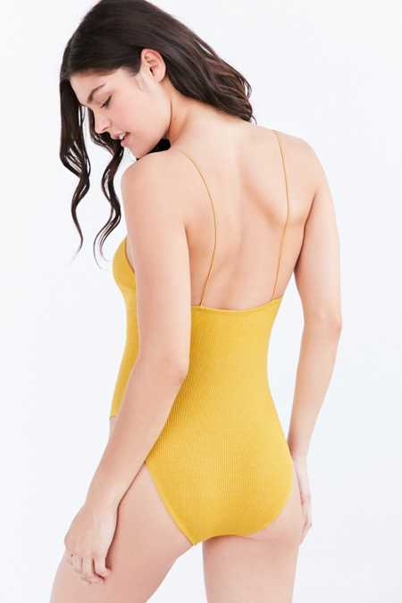 Out From Under Seamless Ribbed Bodysuit