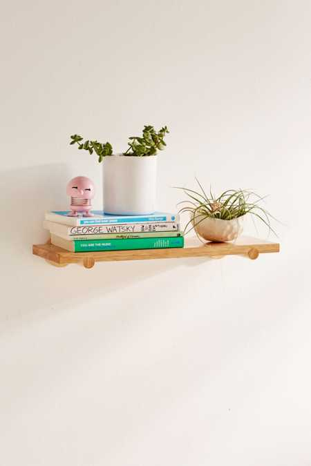 Dowel Bracket Shelf