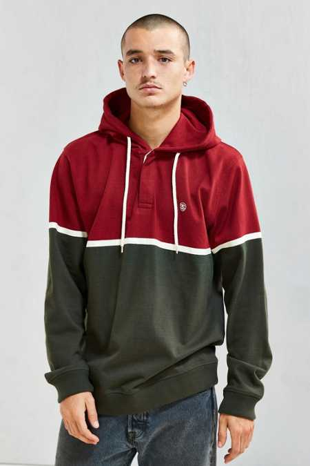 Stussy Hooded Rugby Shirt