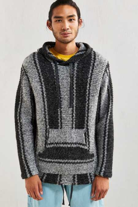 Stussy Chunky Knit Hoodie Sweater