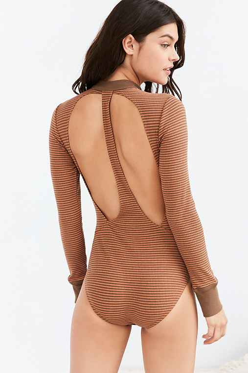 Out From Under 2 Become 1 Bodysuit,NEUTRAL MULTI,S