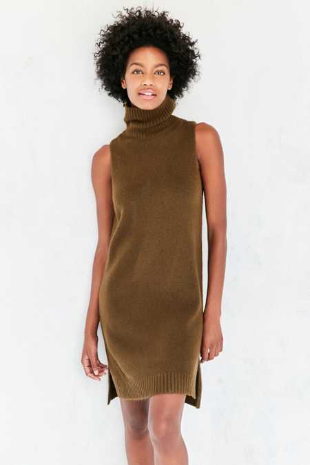 BDG Turtleneck Mini Sweater Dress