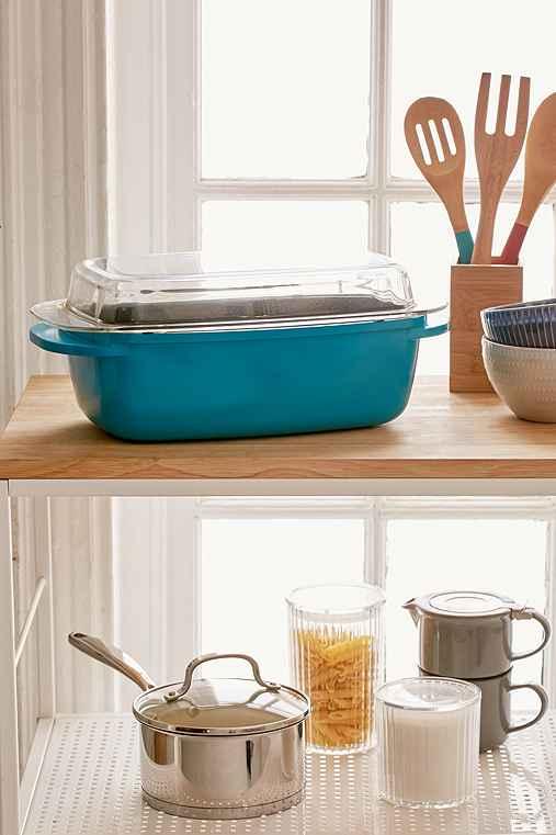 5-Qt Edmound Casserole Dish,BLUE,ONE SIZE