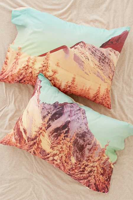 Mountain Landscape Pillowcase Set