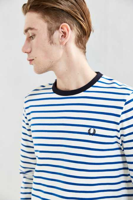 Fred Perry Breton Long Sleeve Tee