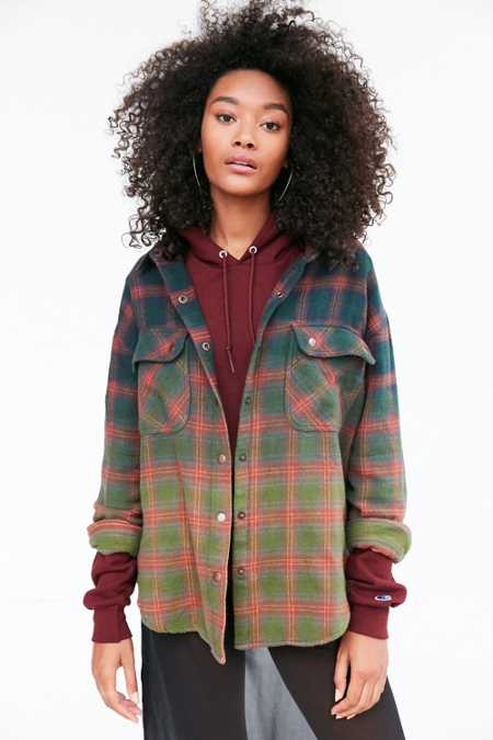 Ecote Mattie Flannel Shirt Jacket