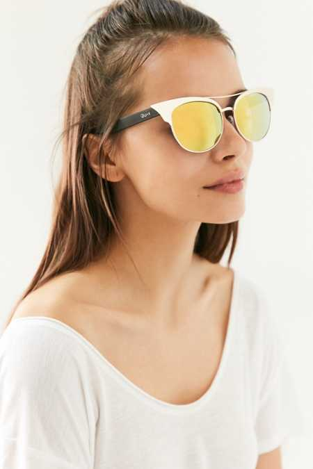 Quay Zig Cat-Eye Sunglasses