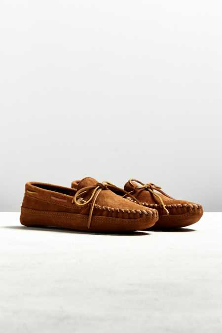 Minnetonka Double Bottom Fleece Slipper
