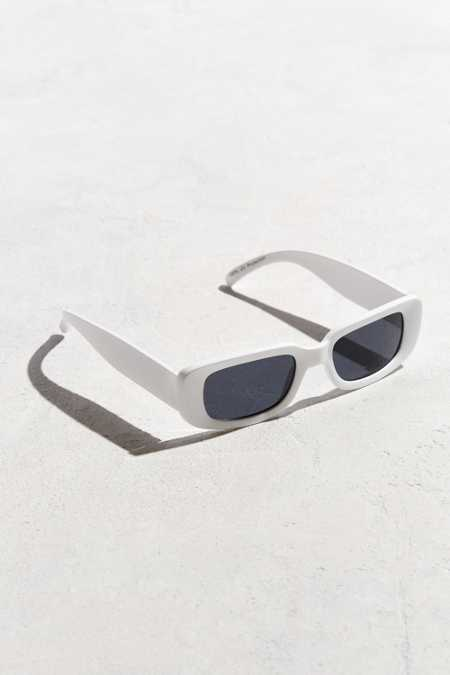 Slim Wide Plastic Sunglasses