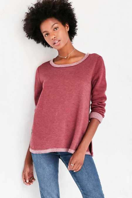 Project Social T Gemma Reversible Fleece Tee