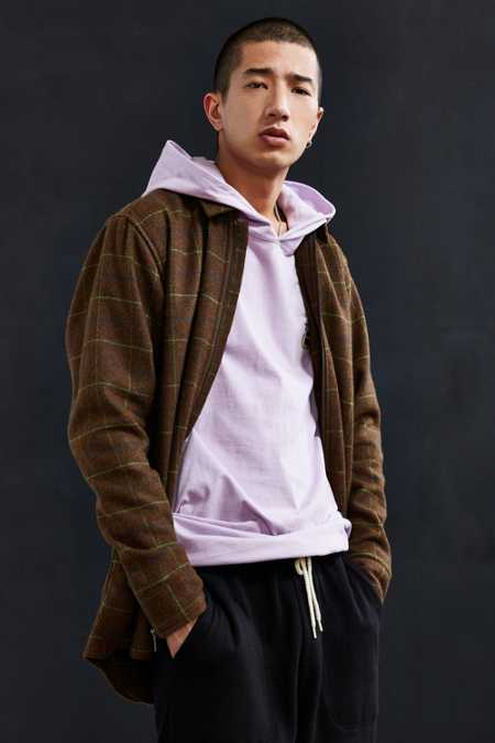 Publish Hunter Plaid Coach Shirt