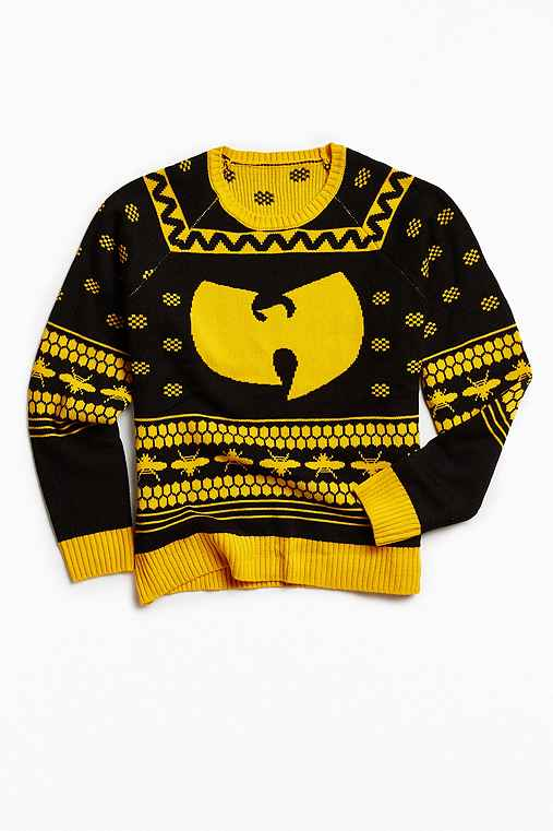 Wu-Tang Sweater,BLACK,L