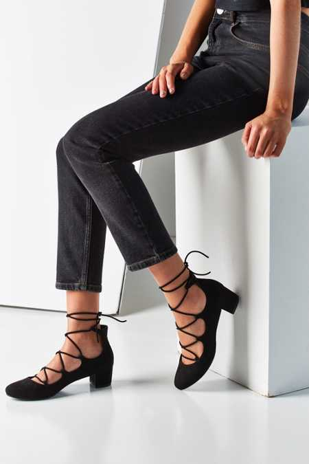 Milla Lace-Up Heel