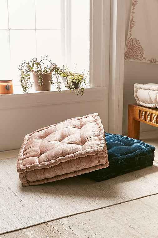 velvet floor pillow - 28 images - items similar to burgundy velvet ...