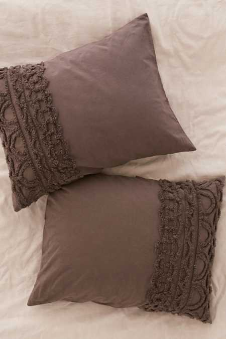 Chloe Tufted Medallion Sham Set