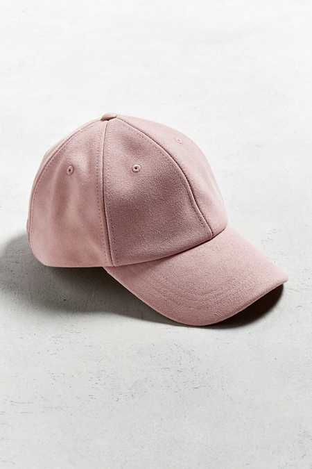 UO Suede Baseball Hat