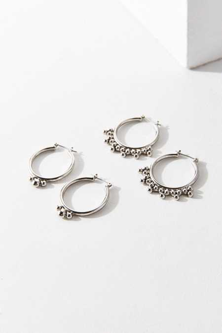 Statement Hoop Earring Set