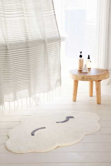 Winking Cloud Bath Mat