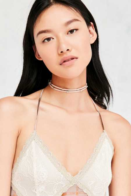 Alissa Studded Choker Necklace