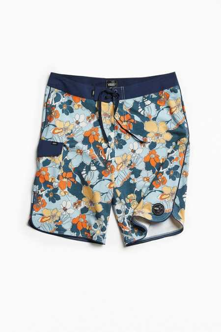 Vans Mixed Scallop Floral Boardshort