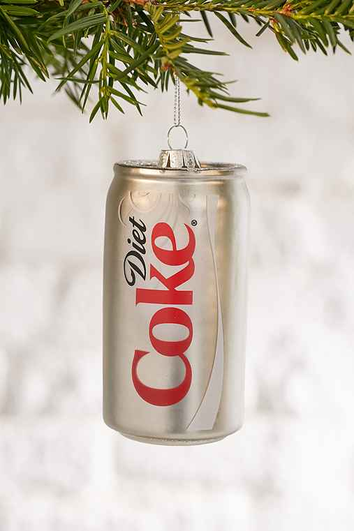 Diet Coke Ornament,GREY,ONE SIZE