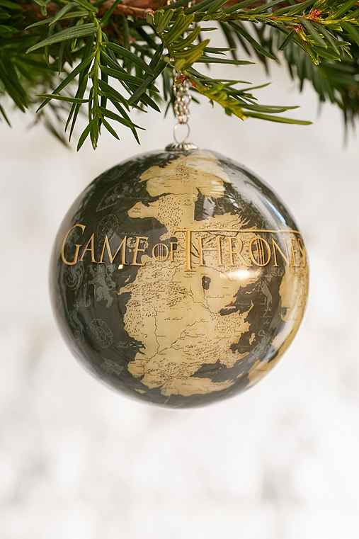 Game Of Thrones Westeros Ornament,BROWN,ONE SIZE