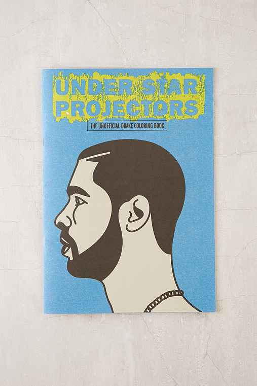 Under Star Projectors: The Drake Coloring Book By Sugoi Books,ASSORTED,ONE SIZE