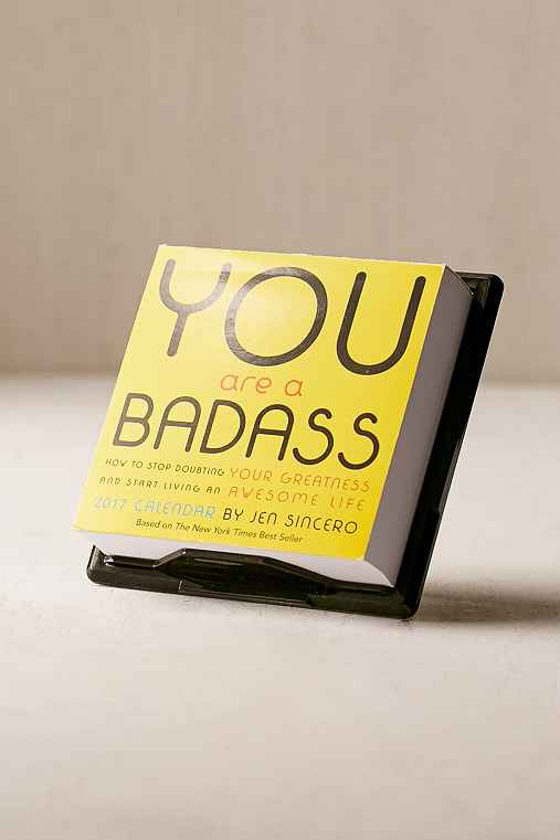 2017 You Are A Badass Page-A-Day Calendar,ASSORTED,ONE SIZE