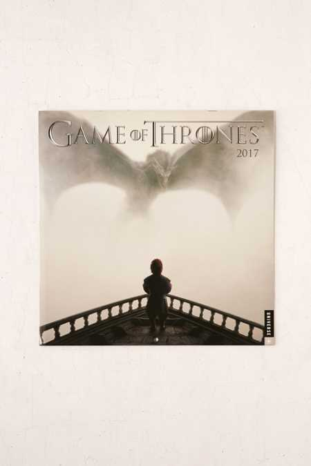 2017 Game Of Thrones Wall Calendar