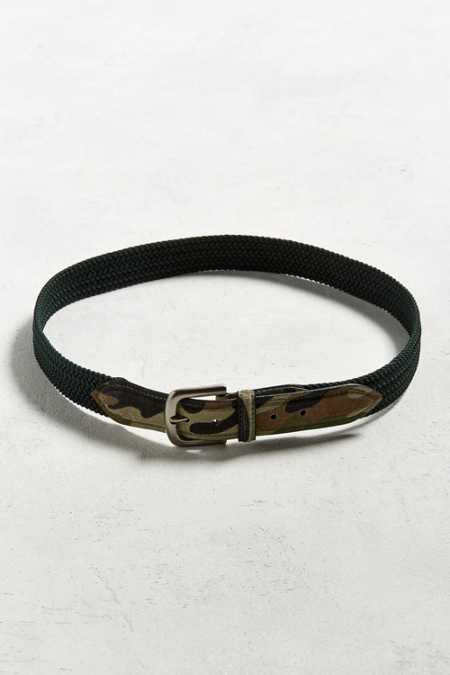 UO Stretch Cord Camo Belt