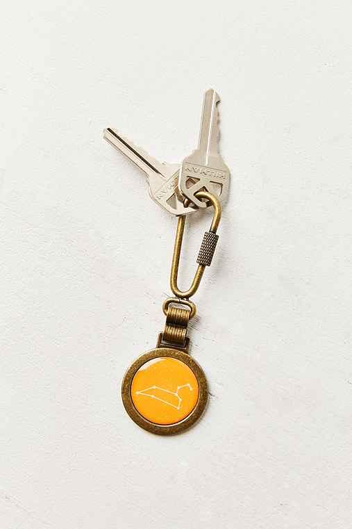 Zodiac Keychain,LEO,ONE SIZE
