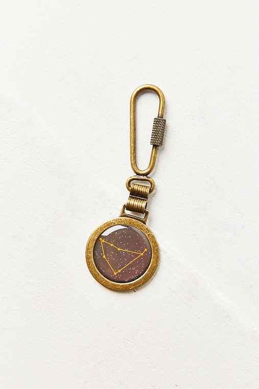 Zodiac Keychain,CAPRICORN,ONE SIZE