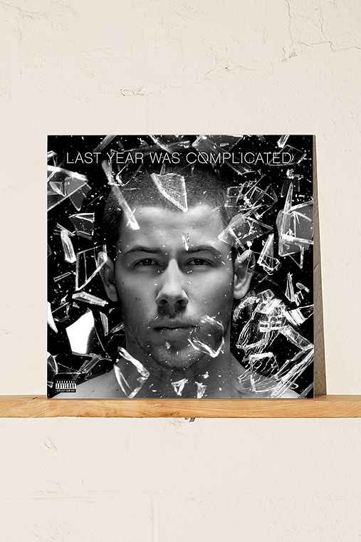 Nick Jonas - Last Year Was Complicated LP,BLACK,ONE SIZE
