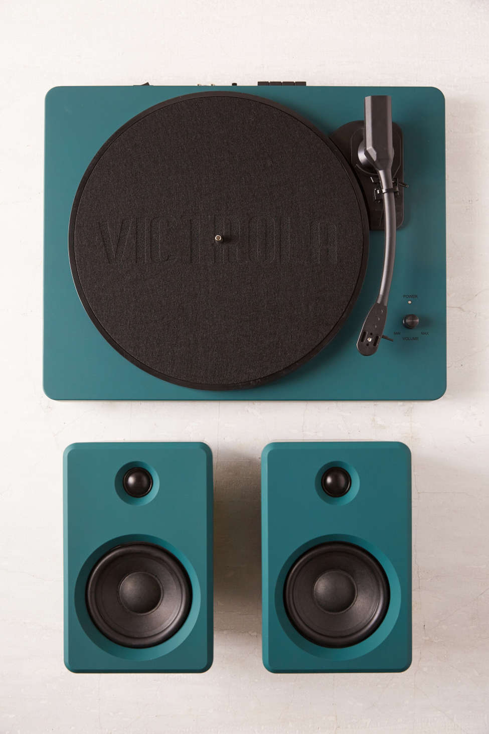 EP-33 Bluetooth Turntable With Speakers - Dark Green