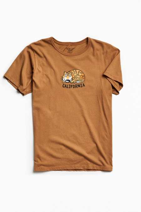 Mowgli Surf California Cat Tee