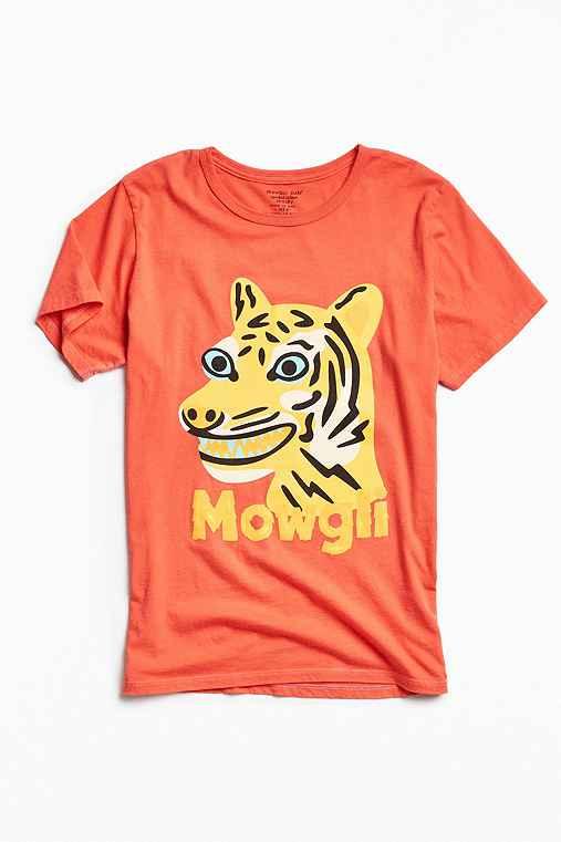 Mowgli Surf Tiger Time Tee,RED,S