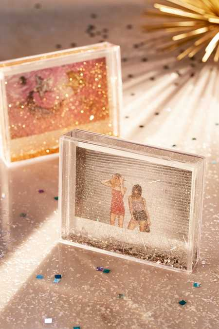 Wide Instax Glitter Picture Frame