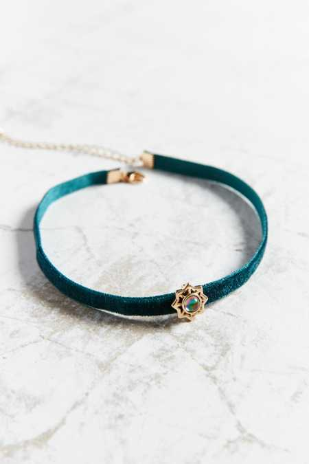 Emme Star + Stone Choker Necklace